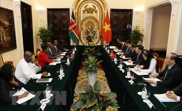 Vietnam, Kenya agree on measures to boost ties hinh anh 1