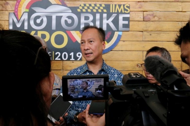 Indonesia targets export of 1 million motorbikes by 2025 hinh anh 1