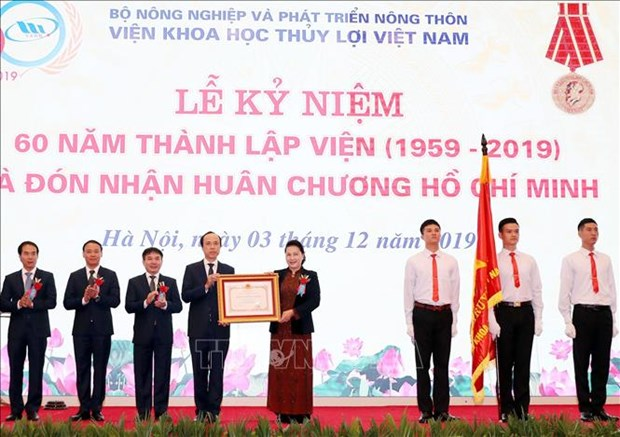 Top legislator values water academy's contributions to agricultural development hinh anh 1