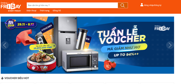 Vietnam E-Pavilion on e-commerce platforms debuts hinh anh 1