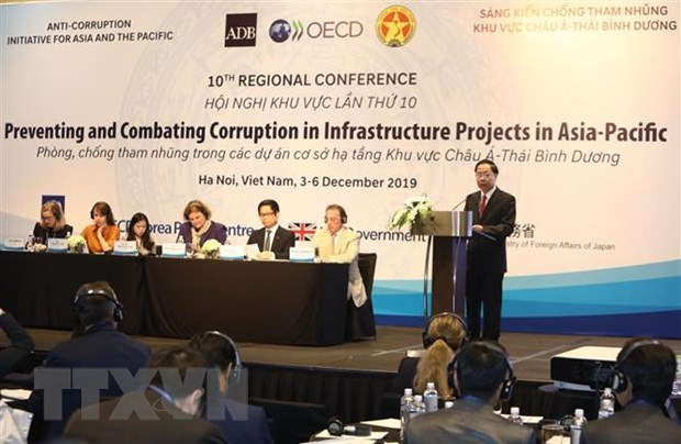 Regional conference discusses anti-corruption in infrastructure projects hinh anh 1