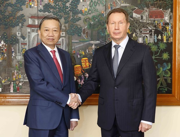 Vietnam, Russia enhance cooperation in crime combat hinh anh 1