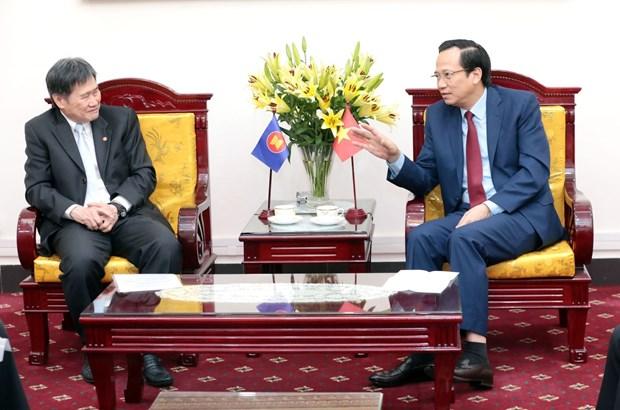 Social affairs – a focus of Vietnam's ASEAN Chairmanship Year 2020 hinh anh 1