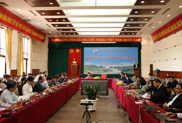 Vietnam Mekong River Commission holds second plenary in 2019 hinh anh 1