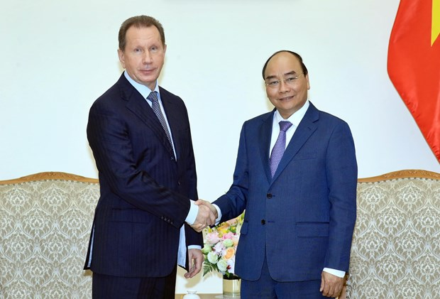 PM welcomes Director of Russia's National Guard hinh anh 1