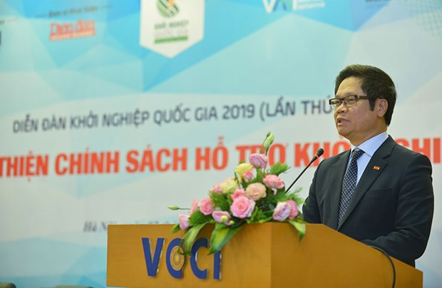 More support policies needed to boost startups, innovation: VCCI President hinh anh 1