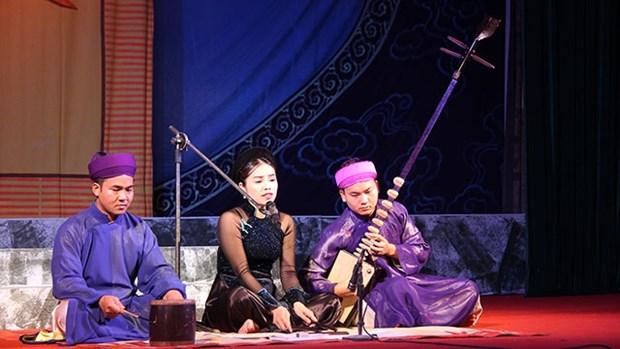 Bac Giang strengthens actions to safeguard Ca tru art hinh anh 1