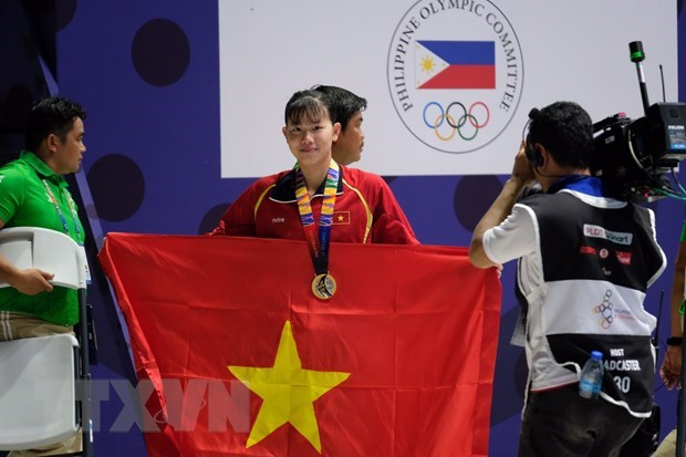 SEA Games 30: Vietnam wins 5 gold medals on fourth competition day hinh anh 1