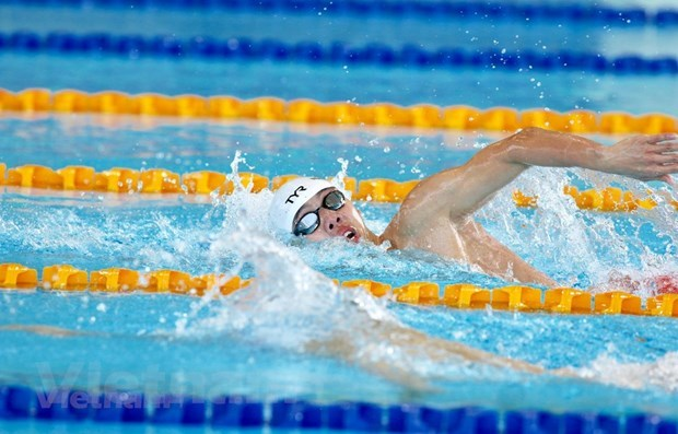SEA Games 30: Swimmer Hoang sets new record in 400-m freestyle hinh anh 1