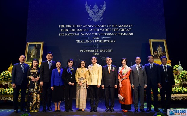 Thailand's National Day observed in Hanoi hinh anh 1