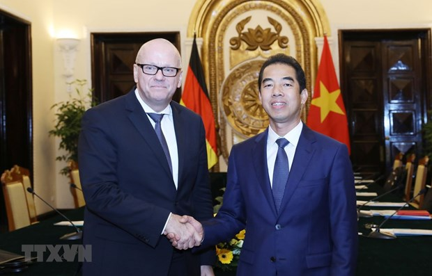 Vietnam – Germany strategic management group convenes fifth meeting hinh anh 1