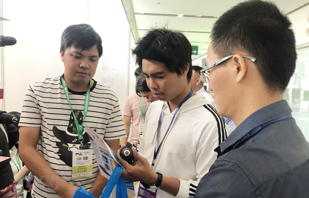 Vietnam Expo 2019 opens in HCM City hinh anh 1