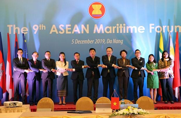 Ninth ASEAN Maritime Forum opens in Da Nang hinh anh 1