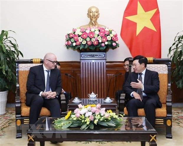 Vietnam values relations with Germany: Deputy PM hinh anh 1