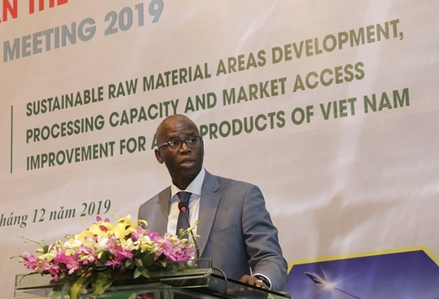 Meeting talks sustainable development of agricultural material areas hinh anh 1