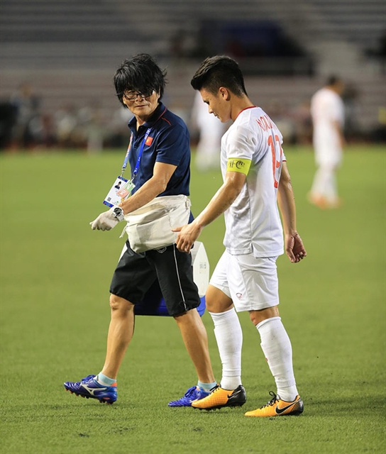 Star midfielder Quang Hai likely to miss rest of SEA Games hinh anh 1