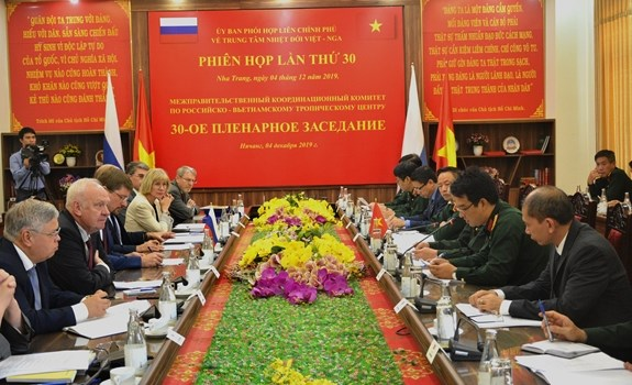 Coordinating Committee for Vietnam-Russia Tropical Centre meets in Hanoi hinh anh 1