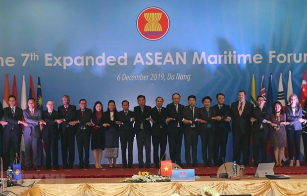 Expanded ASEAN Maritime Forum opens in Da Nang hinh anh 1
