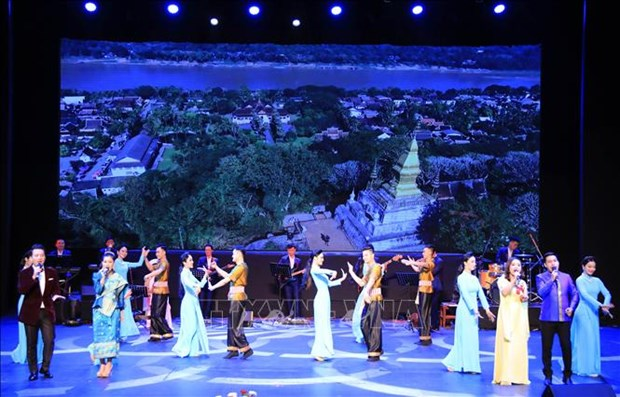 Vietnam Culture Week kicks off in Laos hinh anh 1
