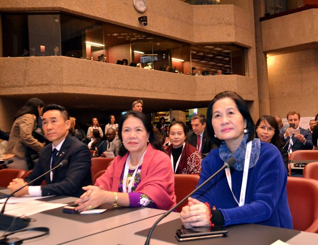 Vietnam attends 22nd IFRC General Assembly in Geneva hinh anh 1