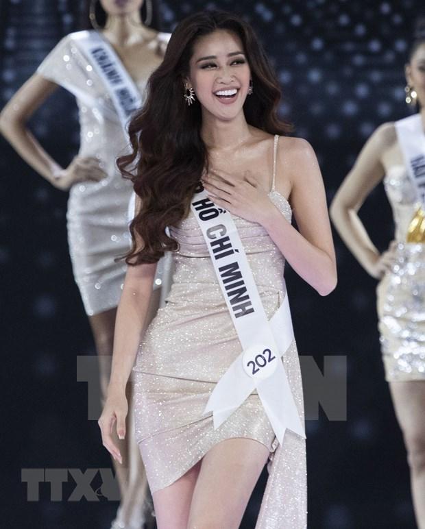 Nguyen Tran Khanh Van crowned Miss Universe Vietnam 2019 hinh anh 1