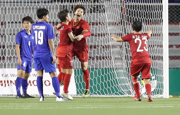 SEA Games 30: Vietnam moves to second place on eight day hinh anh 1