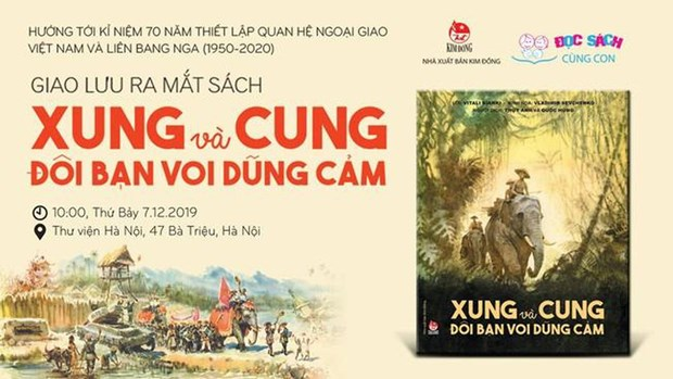 Book on 70th anniversary of Vietnam-Russia ties launched hinh anh 1