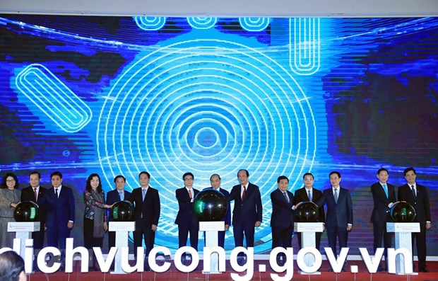 National public service portal launched hinh anh 1