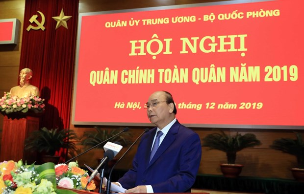 PM lauds Defence Ministry's performance in 2019 hinh anh 1