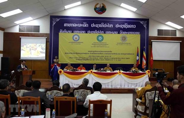 Symposium talks Vietnamese Buddhism in Laos hinh anh 1
