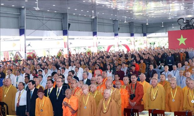 Vietnam Buddhist Academy marks 35th founding anniversary hinh anh 1