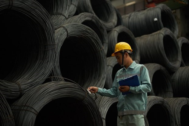 Hoa Phat's steel pipe export surges 22.3 pct in 11 months hinh anh 1