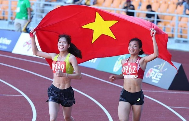 Oanh wins first gold for Vietnam on 10th day of SEA Games hinh anh 1