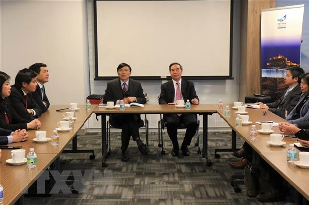Party official works with Vietnamese delegation to UN hinh anh 1