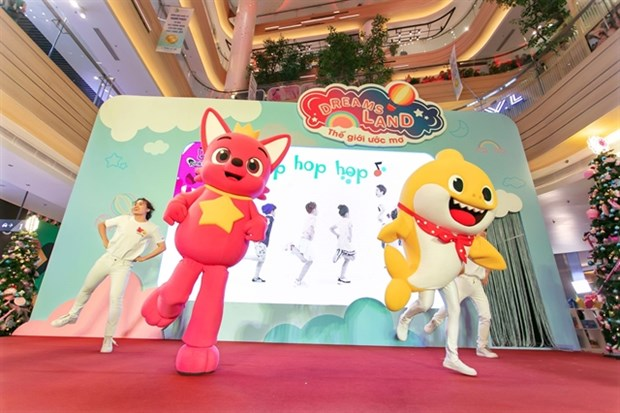 Children's beloved cartoon charactors to perform in VN hinh anh 1