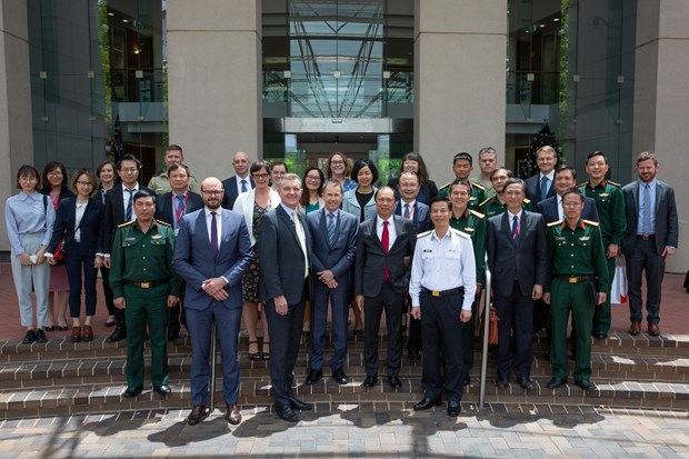 Vietnam, Australia hold 7th diplomatic – defence strategic dialogue hinh anh 1