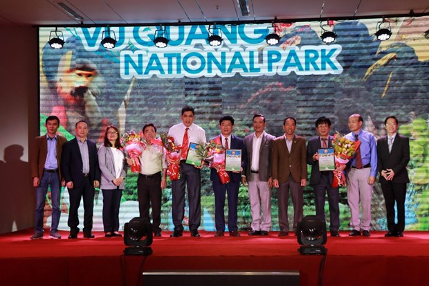 Vietnam has four new ASEAN Heritage Parks hinh anh 1