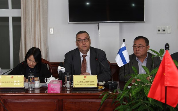 Hau Giang hopes for Finland's cooperation in various areas hinh anh 1