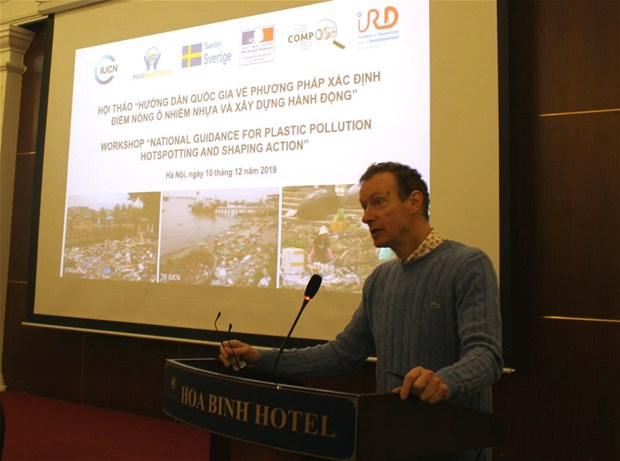 Workshop provides guidance for identifying plastic pollution hotspots hinh anh 1