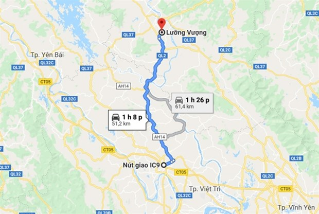 Government approves Tuyen Quang-Phu Tho expressway project hinh anh 1