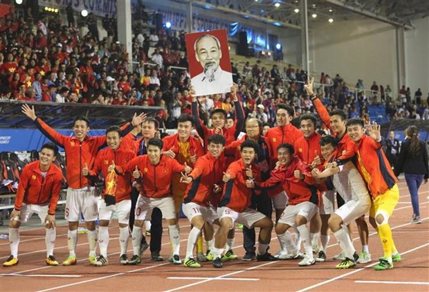 U22 football team get sizeable cash bonus after historic win hinh anh 1