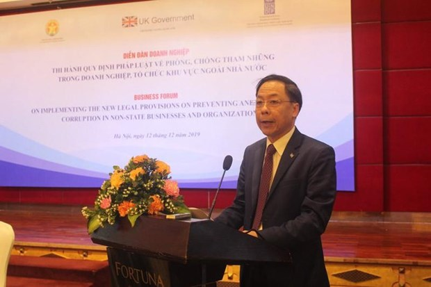 Enhancing anti-corruption law enforcement in non-state sector hinh anh 1