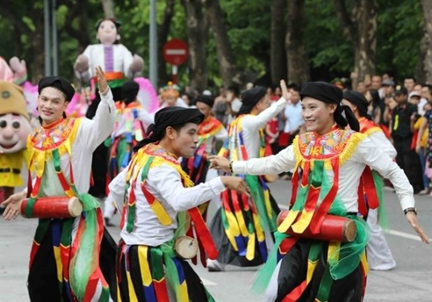 Folk festival to take place in downtown Hanoi hinh anh 1