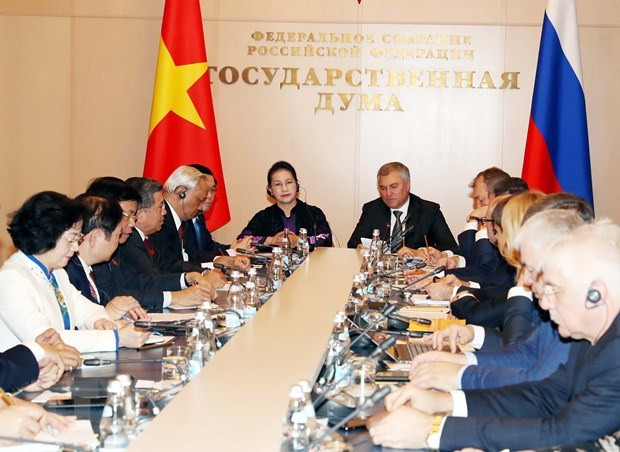 Vietnam a reliable partner of Russia: State Duma Chairman hinh anh 1