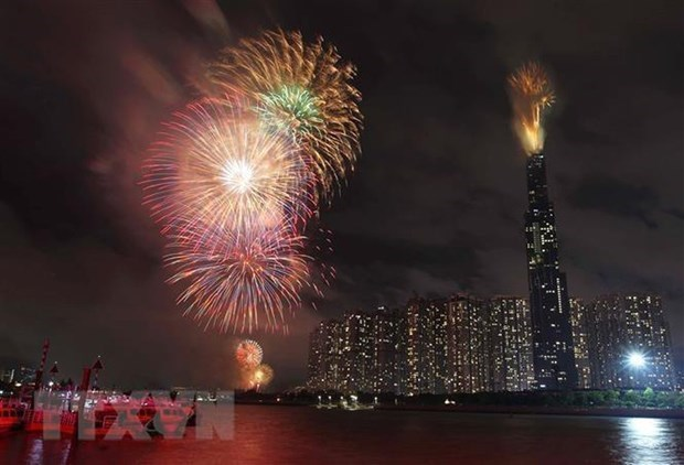 HCM City to set off fireworks to welcome New Year hinh anh 1