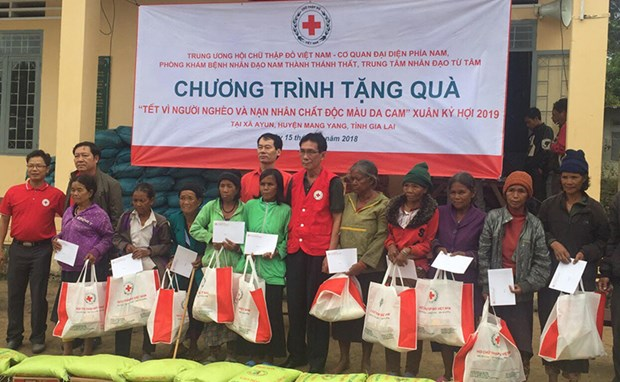 Vietnam Red Cross aims to provide 1.5 million Tet gifts to the needy hinh anh 1