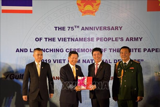 Founding anniversary of Vietnam People's Army marked overseas hinh anh 1