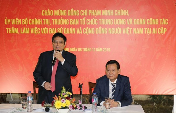 Vietnam treasures relations with Egypt: Party official hinh anh 1