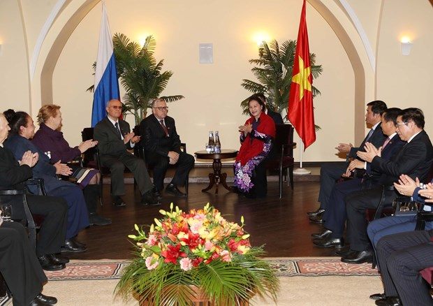 Top legislator meets leader of Communist Party of Russian Federation hinh anh 2
