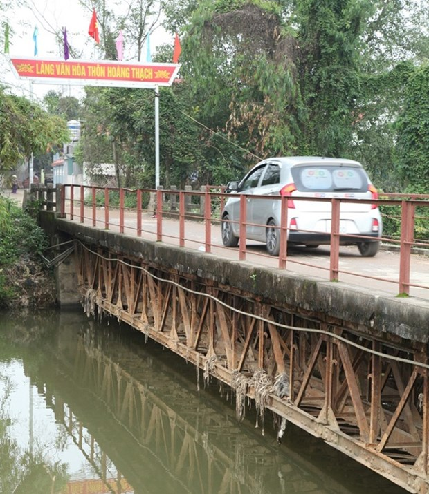 Vinh Phuc invests 8.2 million USD in upgrading bridges hinh anh 1
